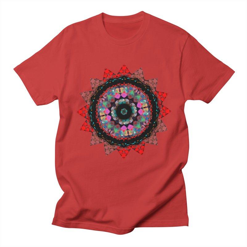 heart queen Men's Regular T-Shirt by KristieRose Designs