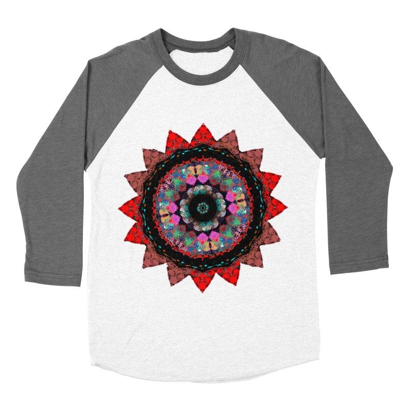 heart queen Men's Baseball Triblend Longsleeve T-Shirt by KristieRose Designs