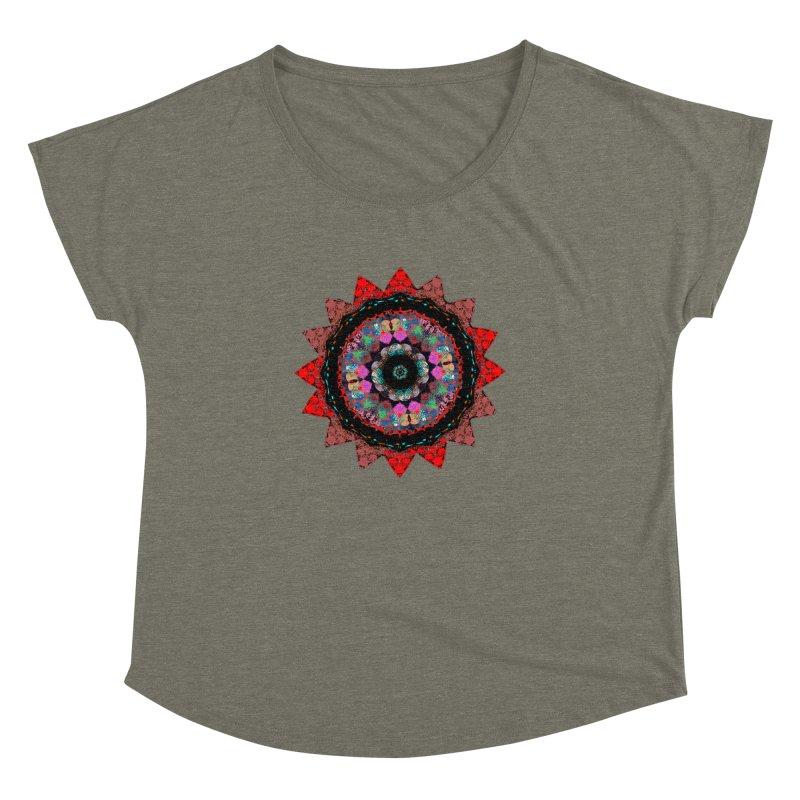 heart queen Women's Dolman Scoop Neck by KristieRose Designs