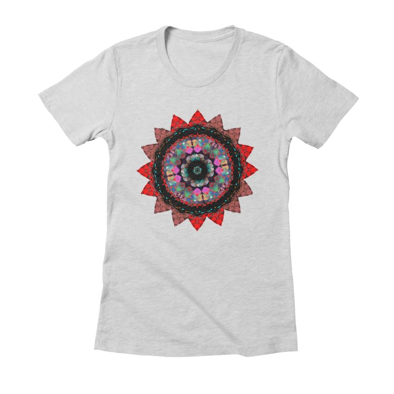 heart queen Women's Fitted T-Shirt by KristieRose Designs