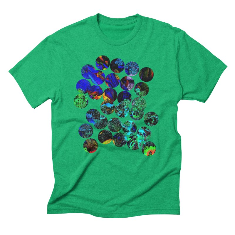 circle chaos Men's T-Shirt by KristieRose Designs