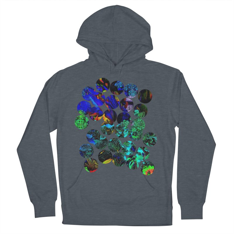 circle chaos Women's French Terry Pullover Hoody by KristieRose Designs