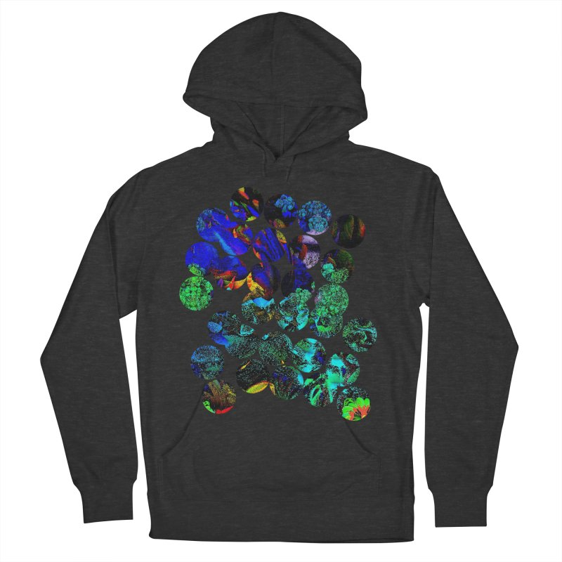 circle chaos Men's French Terry Pullover Hoody by KristieRose Designs