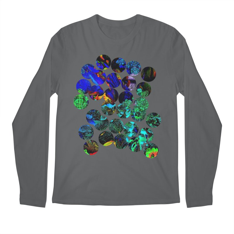 circle chaos Men's Longsleeve T-Shirt by KristieRose Designs