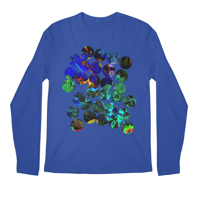 circle chaos Men's Regular Longsleeve T-Shirt by KristieRose Designs
