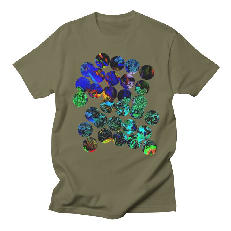 circle chaos Men's T-Shirt by KristieRose Designs