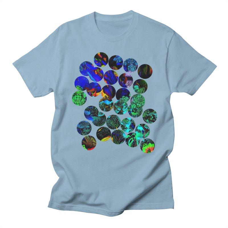 circle chaos Men's Regular T-Shirt by KristieRose Designs