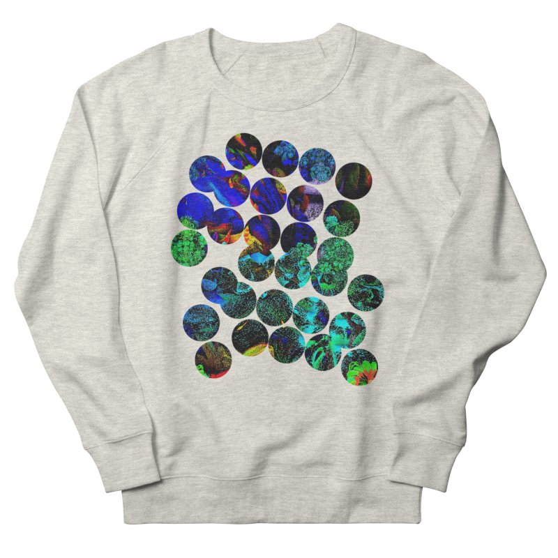 circle chaos Women's French Terry Sweatshirt by KristieRose Designs