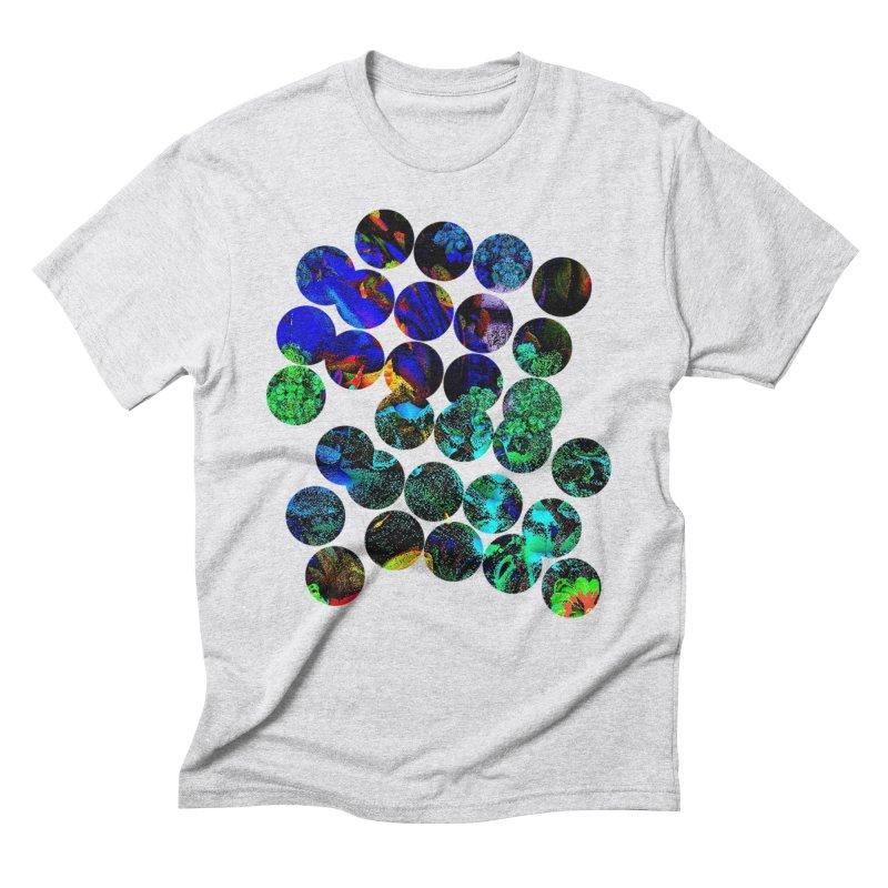 circle chaos Men's Triblend T-Shirt by KristieRose Designs