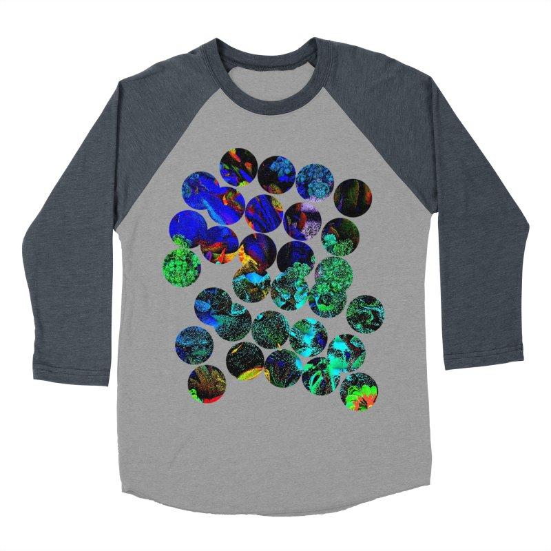 circle chaos Women's Baseball Triblend Longsleeve T-Shirt by KristieRose Designs