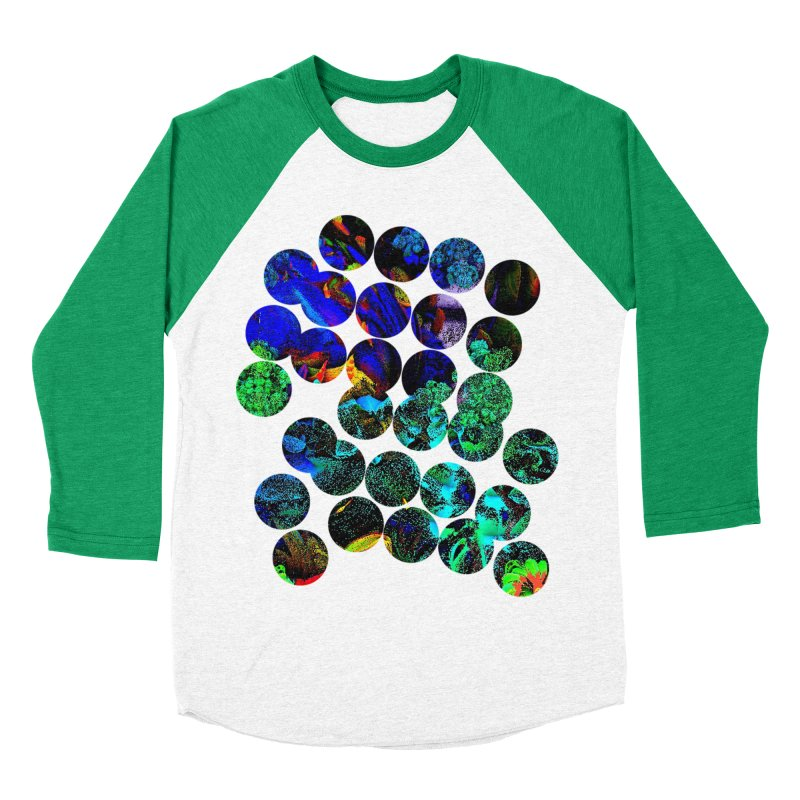circle chaos Men's Baseball Triblend Longsleeve T-Shirt by KristieRose Designs