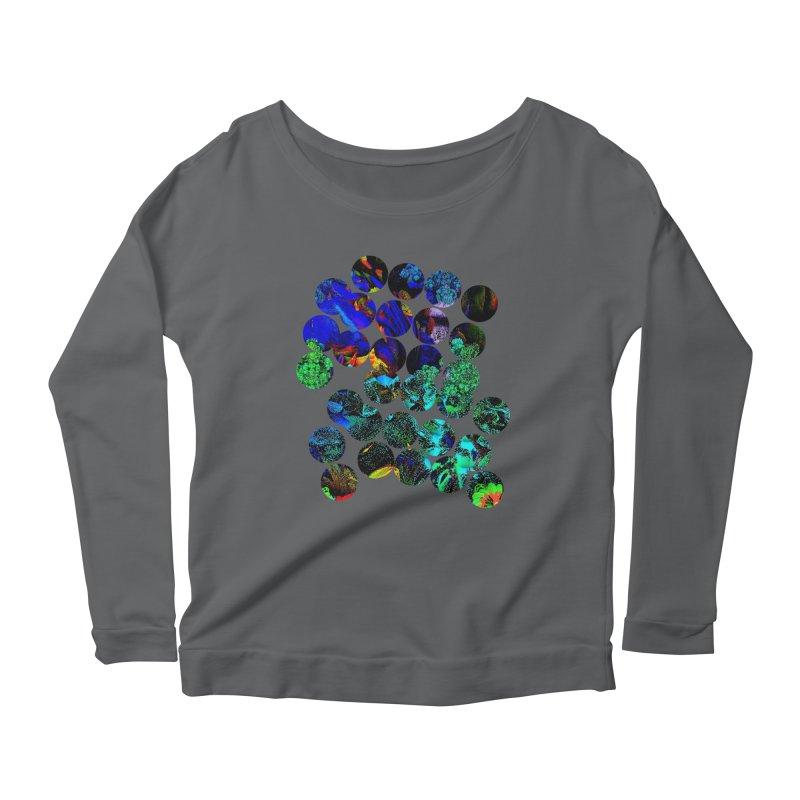 circle chaos Women's Longsleeve T-Shirt by KristieRose Designs