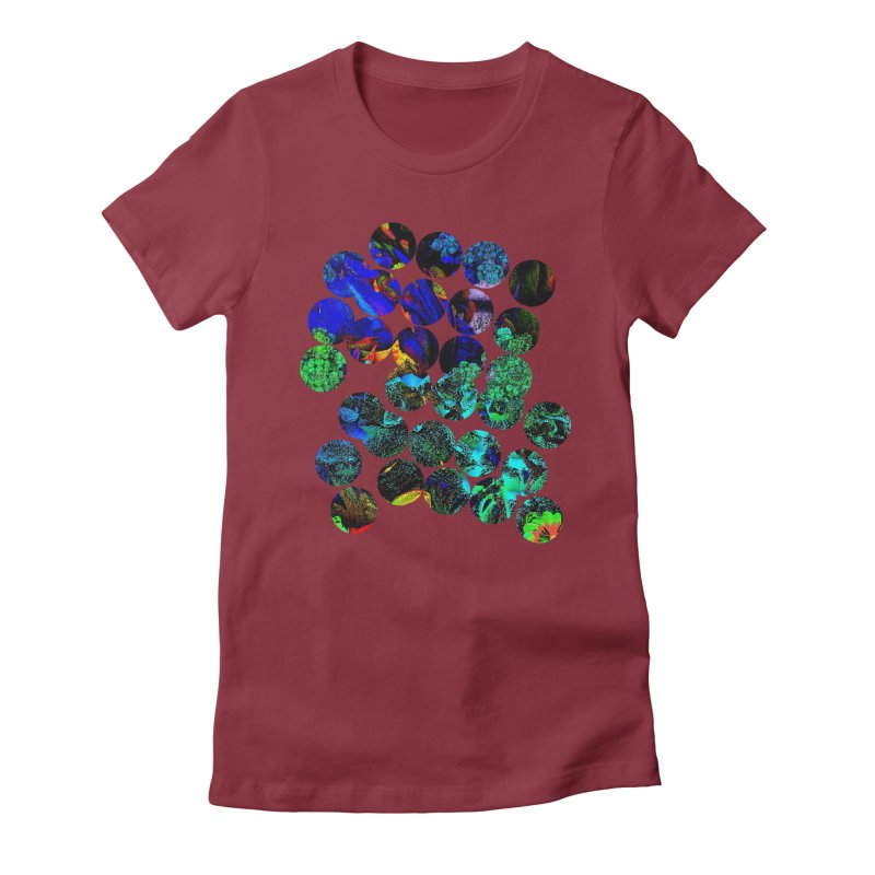 circle chaos Women's T-Shirt by KristieRose Designs