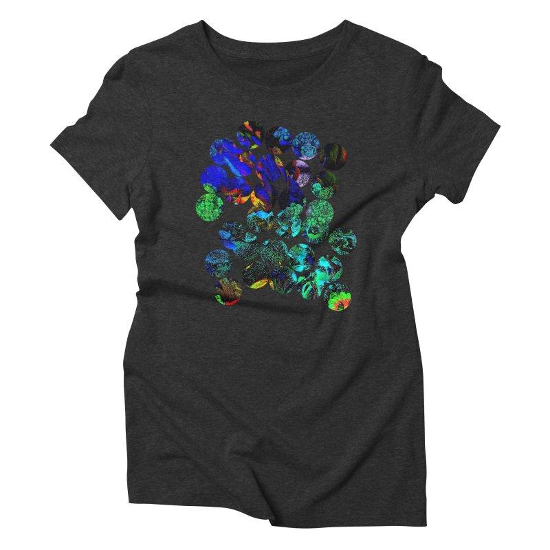 circle chaos Women's T-Shirt by KristieRose Designs