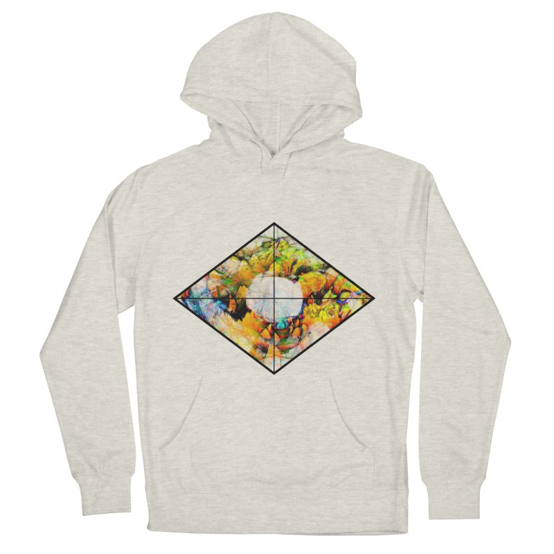 diamond Men's French Terry Pullover Hoody by KristieRose Designs