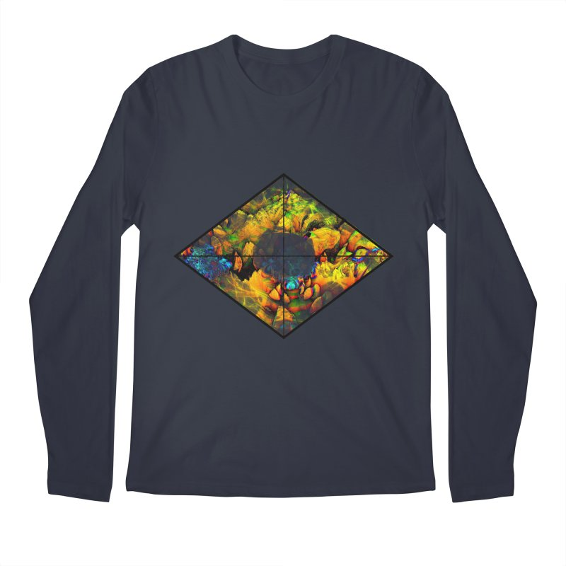 diamond Men's Regular Longsleeve T-Shirt by KristieRose Designs