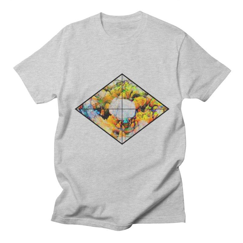 diamond Men's Regular T-Shirt by KristieRose Designs