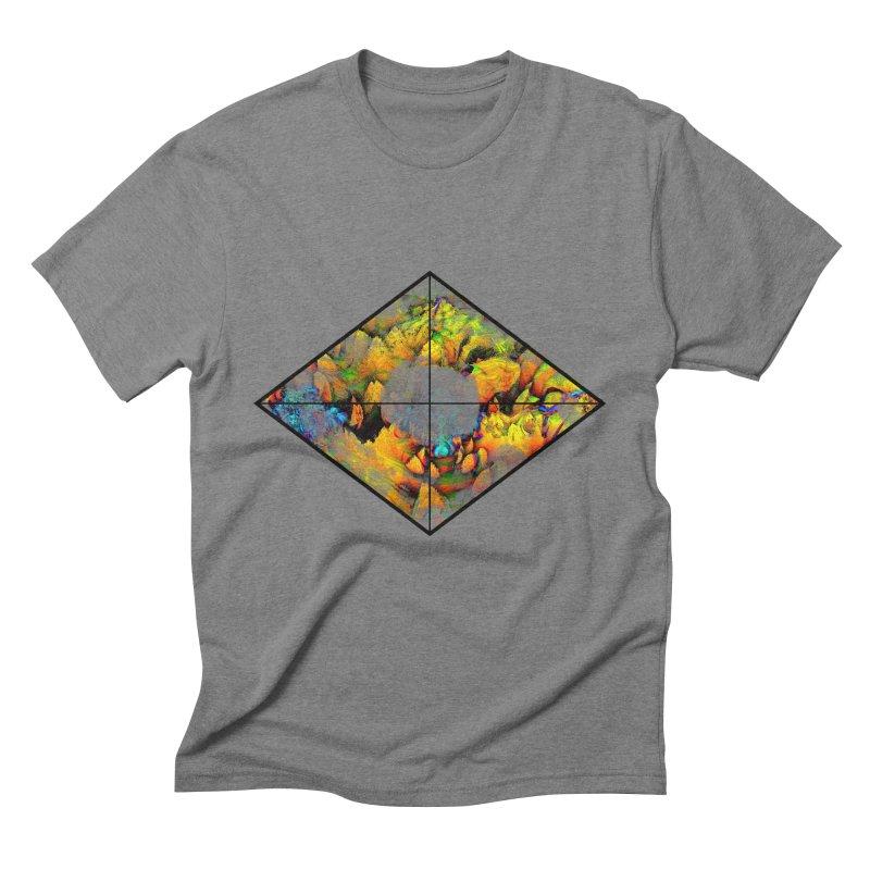 diamond Men's Triblend T-Shirt by KristieRose Designs