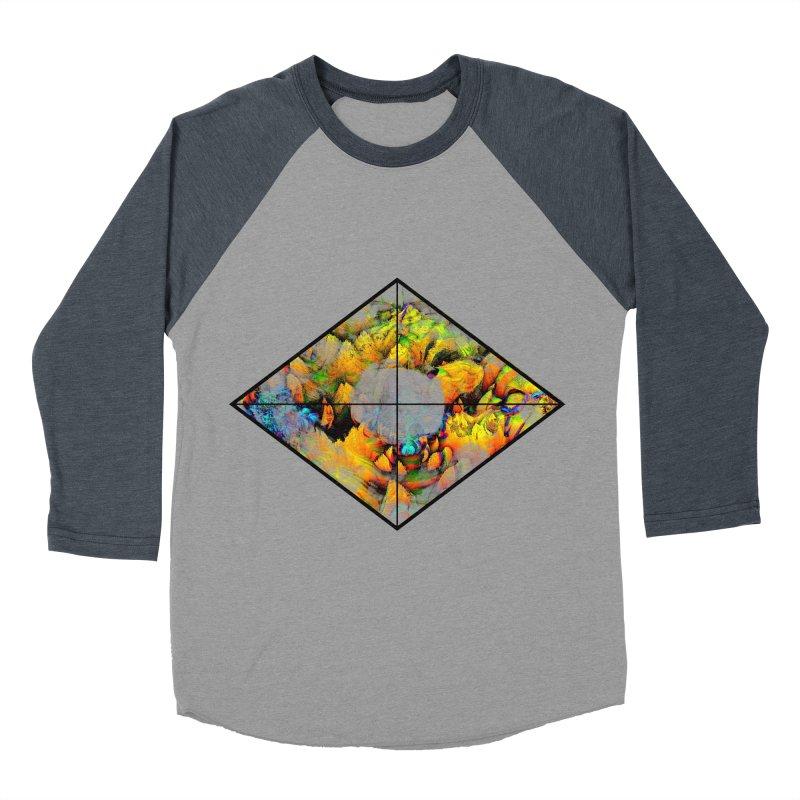 diamond Women's Baseball Triblend Longsleeve T-Shirt by KristieRose Designs