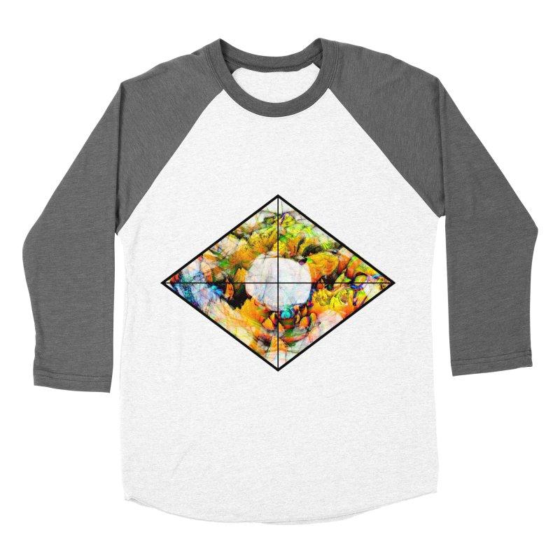 diamond Men's Baseball Triblend Longsleeve T-Shirt by KristieRose Designs