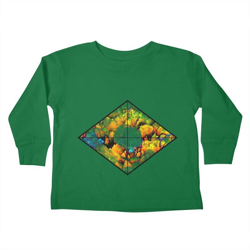 diamond Kids Toddler Longsleeve T-Shirt by KristieRose Designs
