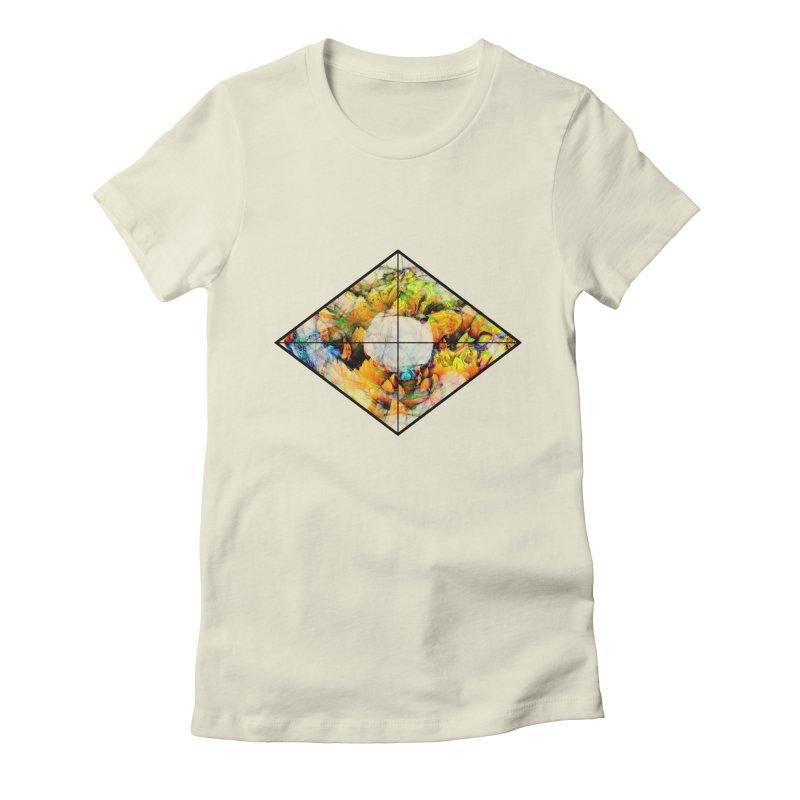 diamond Women's Fitted T-Shirt by KristieRose Designs