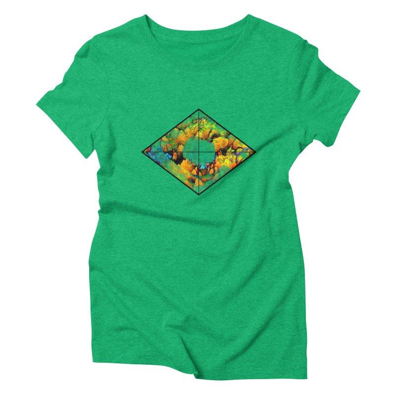diamond Women's Triblend T-Shirt by KristieRose Designs
