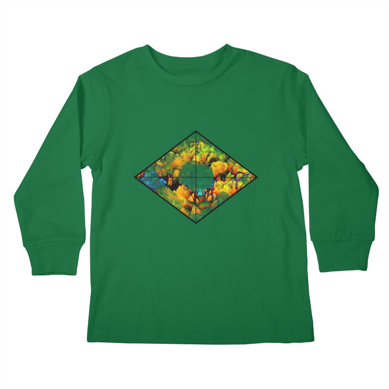 diamond Kids Longsleeve T-Shirt by KristieRose Designs