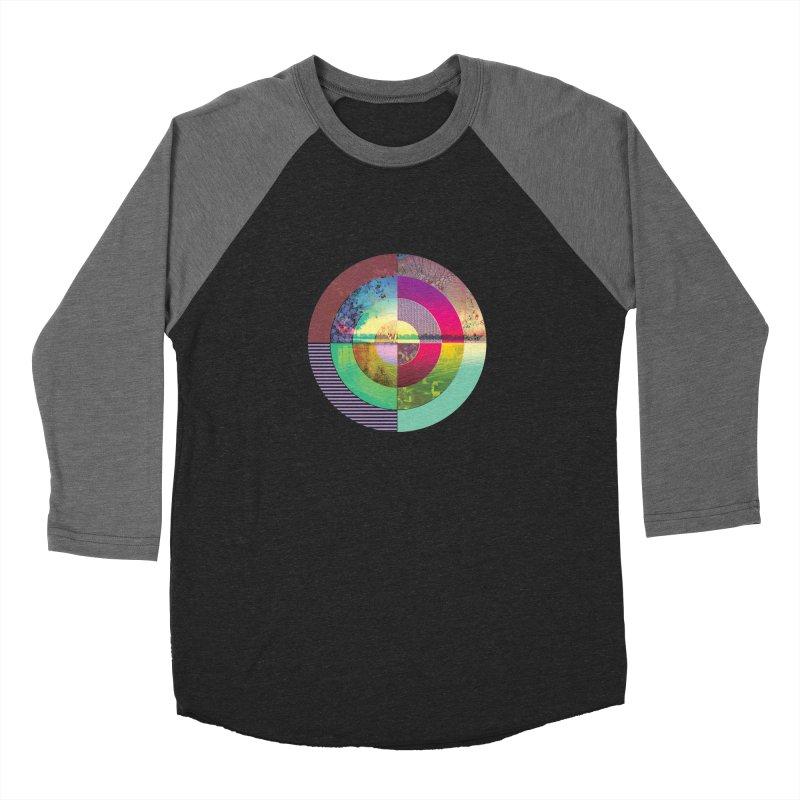 tranquil eye circle art Women's Longsleeve T-Shirt by KristieRose Designs