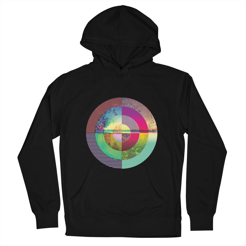 tranquil eye circle art Women's Pullover Hoody by KristieRose Designs