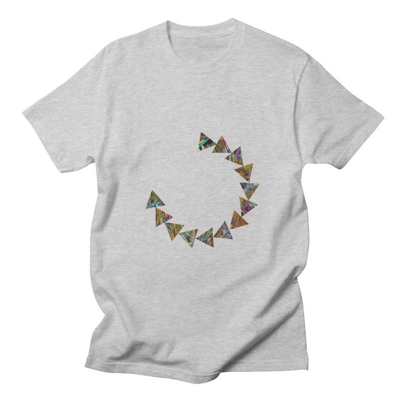 triangle flow Men's T-Shirt by KristieRose Designs