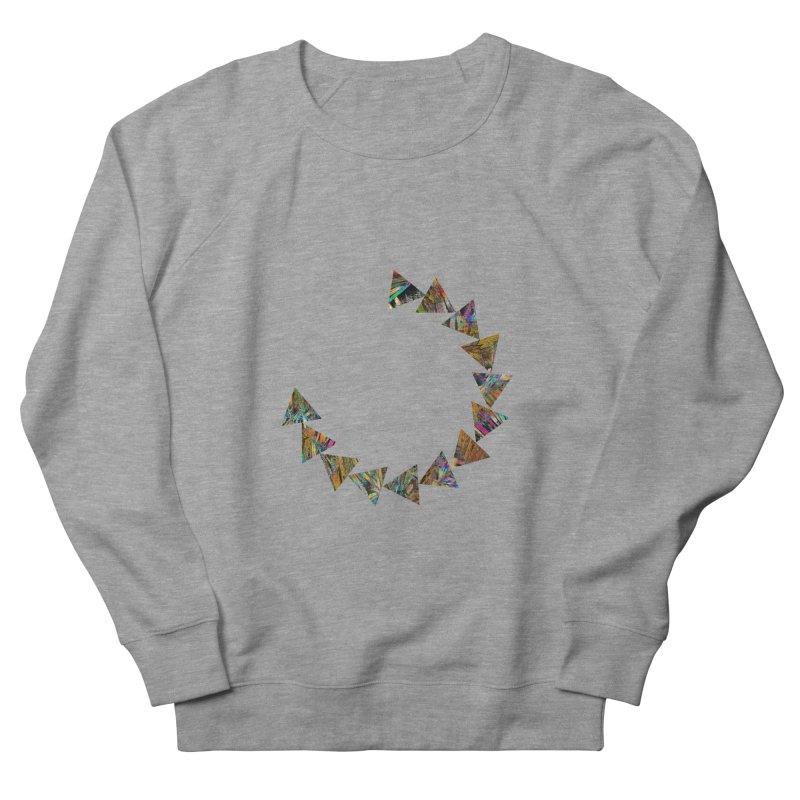 triangle flow Men's French Terry Sweatshirt by KristieRose Designs