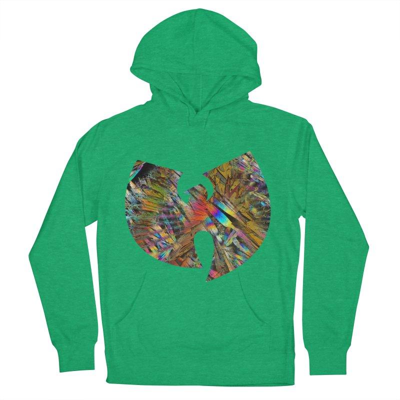 W-prism Men's French Terry Pullover Hoody by KristieRose Designs