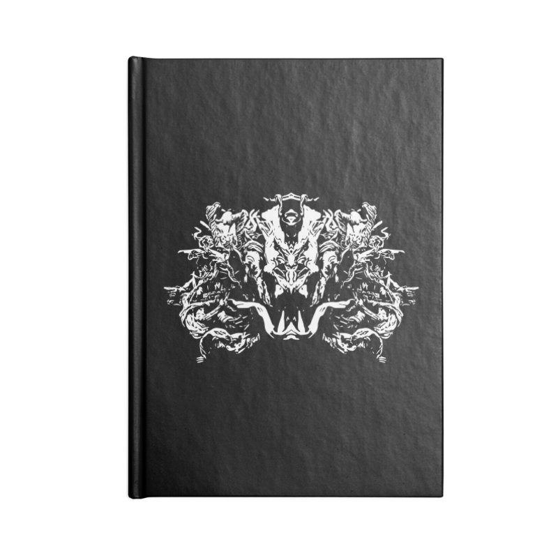 Original Villain Accessories Blank Journal Notebook by Kukileaf's Artist Shop
