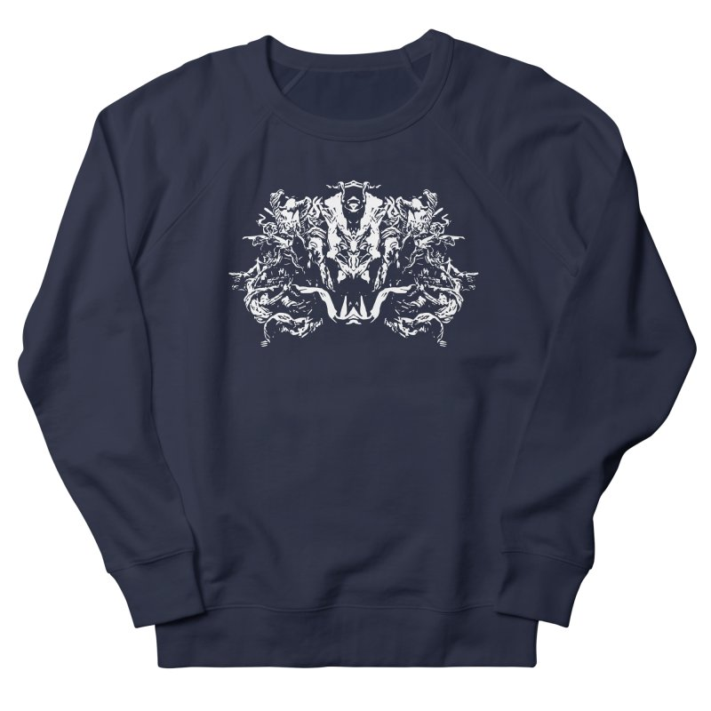 Original Villain Women's French Terry Sweatshirt by Kukileaf's Artist Shop
