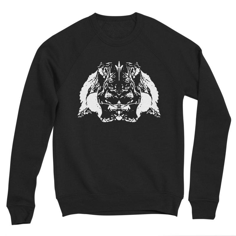 Don't Mess with the Rabbit Men's Sponge Fleece Sweatshirt by Kukileaf's Artist Shop