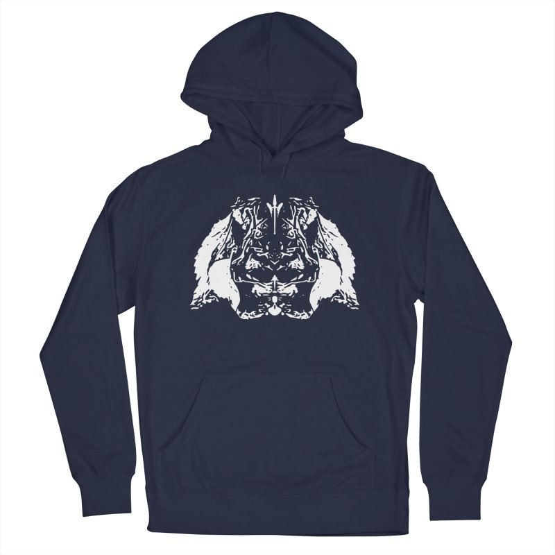 Don't Mess with the Rabbit Women's French Terry Pullover Hoody by Kukileaf's Artist Shop