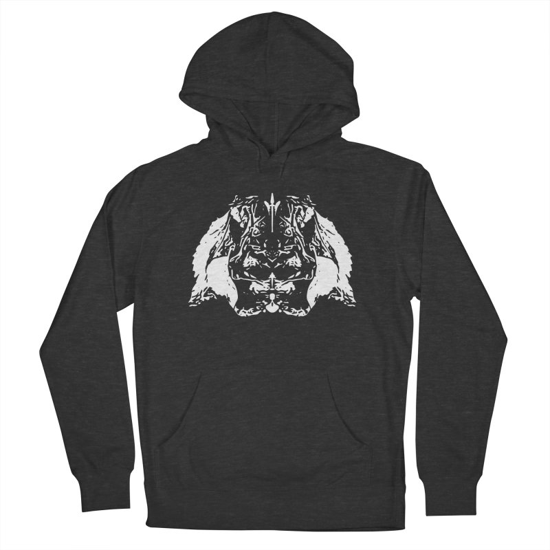 Don't Mess with the Rabbit Men's French Terry Pullover Hoody by Kukileaf's Artist Shop