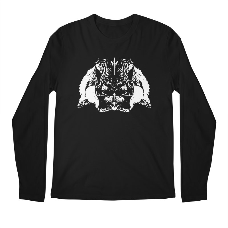 Don't Mess with the Rabbit Men's Regular Longsleeve T-Shirt by Kukileaf's Artist Shop