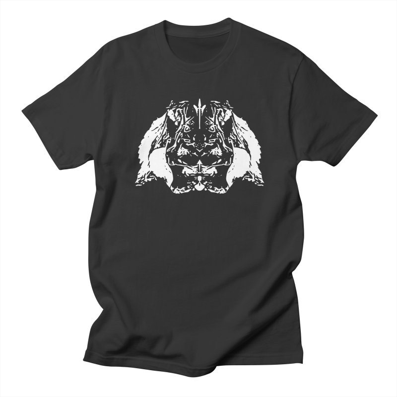 Don't Mess with the Rabbit Men's Regular T-Shirt by Kukileaf's Artist Shop