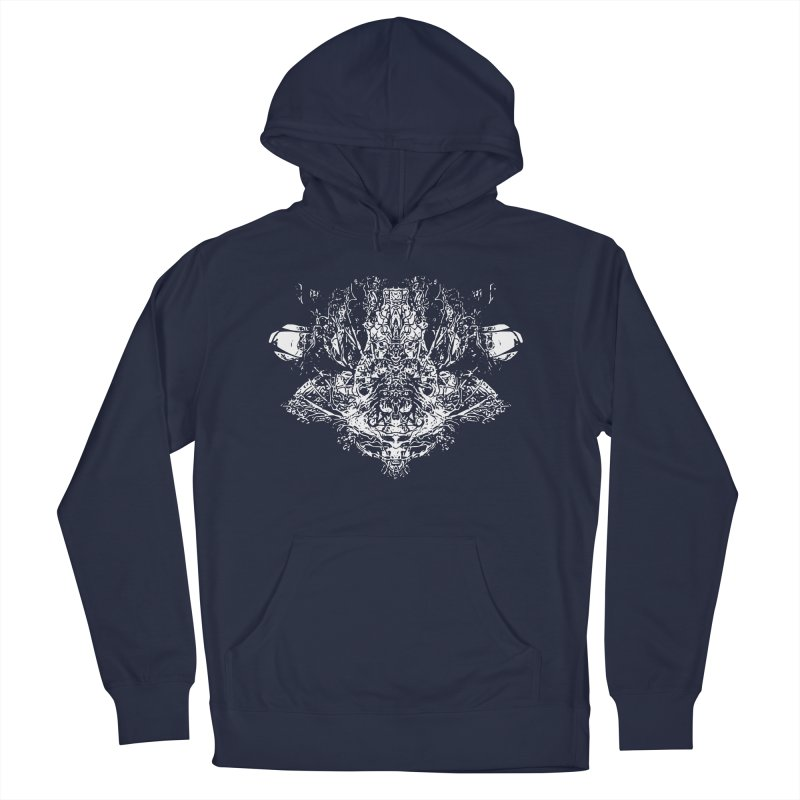 Rock Troll Women's French Terry Pullover Hoody by Kukileaf's Artist Shop