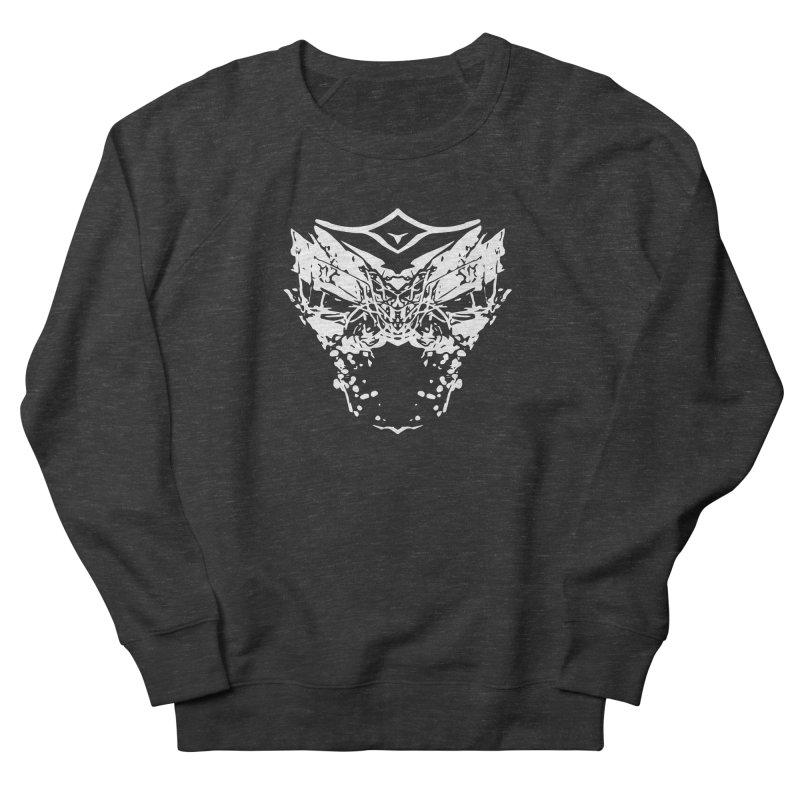 Caged Demon Men's French Terry Sweatshirt by Kukileaf's Artist Shop