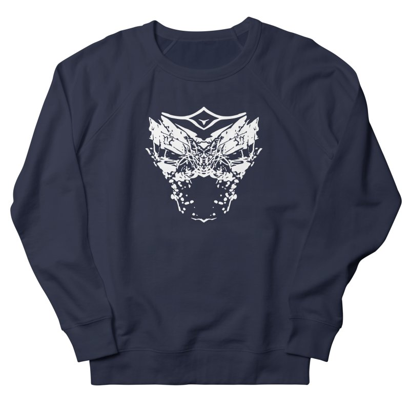 Caged Demon Men's French Terry Sweatshirt by Kukileaf's Artist Shop