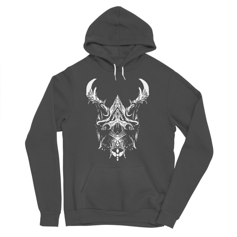 Dark Stag Women's Sponge Fleece Pullover Hoody by Kukileaf's Artist Shop