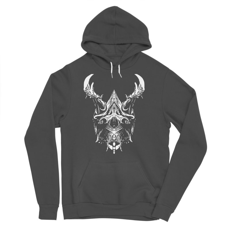 Dark Stag Men's Sponge Fleece Pullover Hoody by Kukileaf's Artist Shop