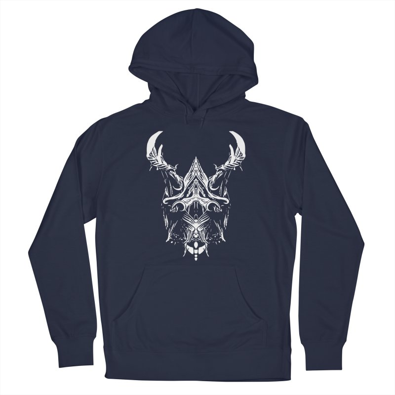 Dark Stag Women's French Terry Pullover Hoody by Kukileaf's Artist Shop