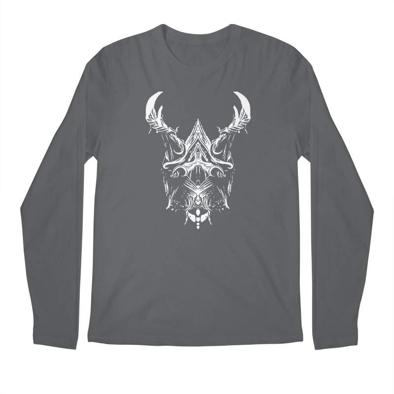 Dark Stag Men's Regular Longsleeve T-Shirt by Kukileaf's Artist Shop