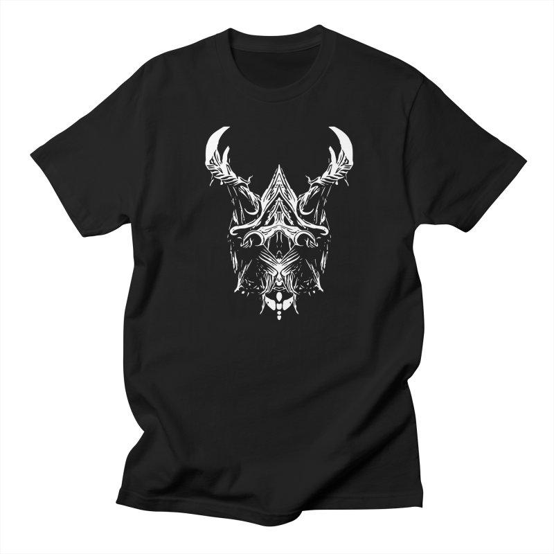 Dark Stag Men's Regular T-Shirt by Kukileaf's Artist Shop