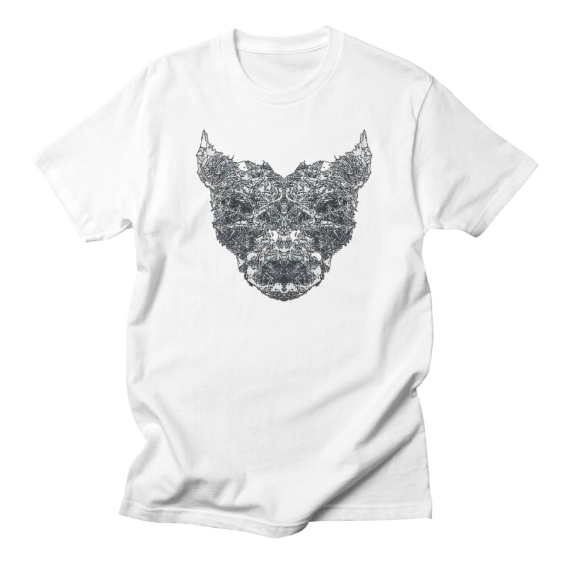 Ice Hound Men's Regular T-Shirt by Kukileaf's Artist Shop