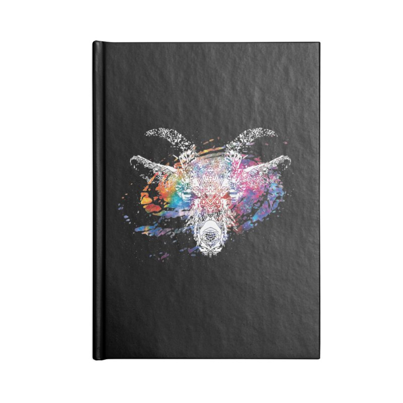 space goat spiral galaxy Accessories Blank Journal Notebook by Kukileaf's Artist Shop